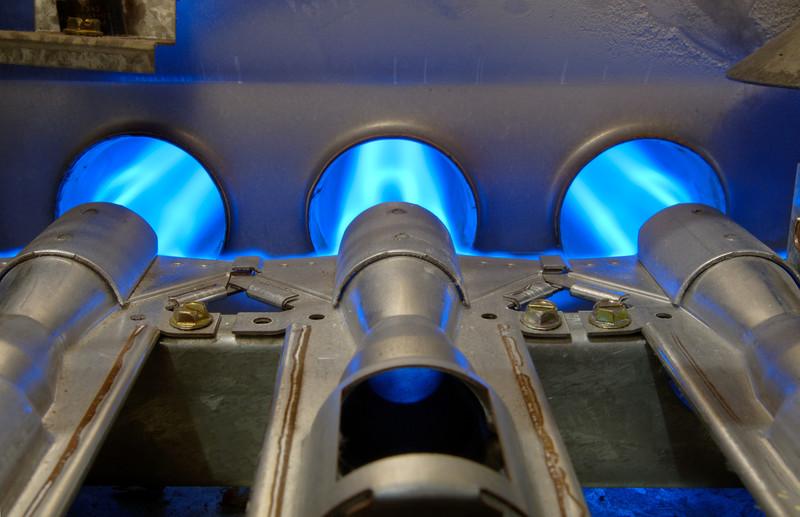 gas furnace burners